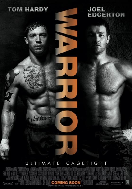 Warrior poster, © 2011 E1 Entertainment Benelux