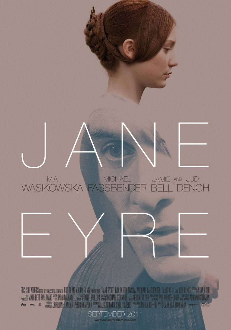 Jane Eyre poster, © 2011 A-Film Distribution