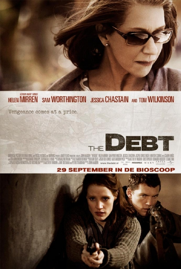 The Debt poster, © 2010 Universal Pictures International