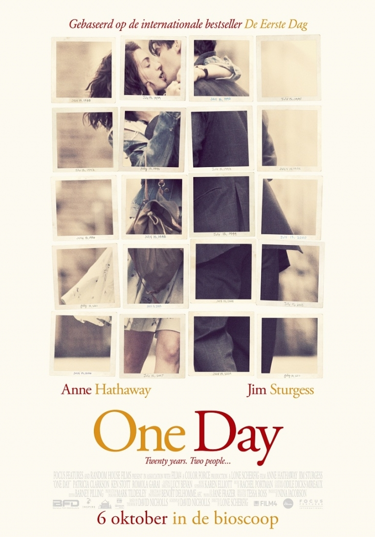 One Day poster, © 2011 Benelux Film Distributors