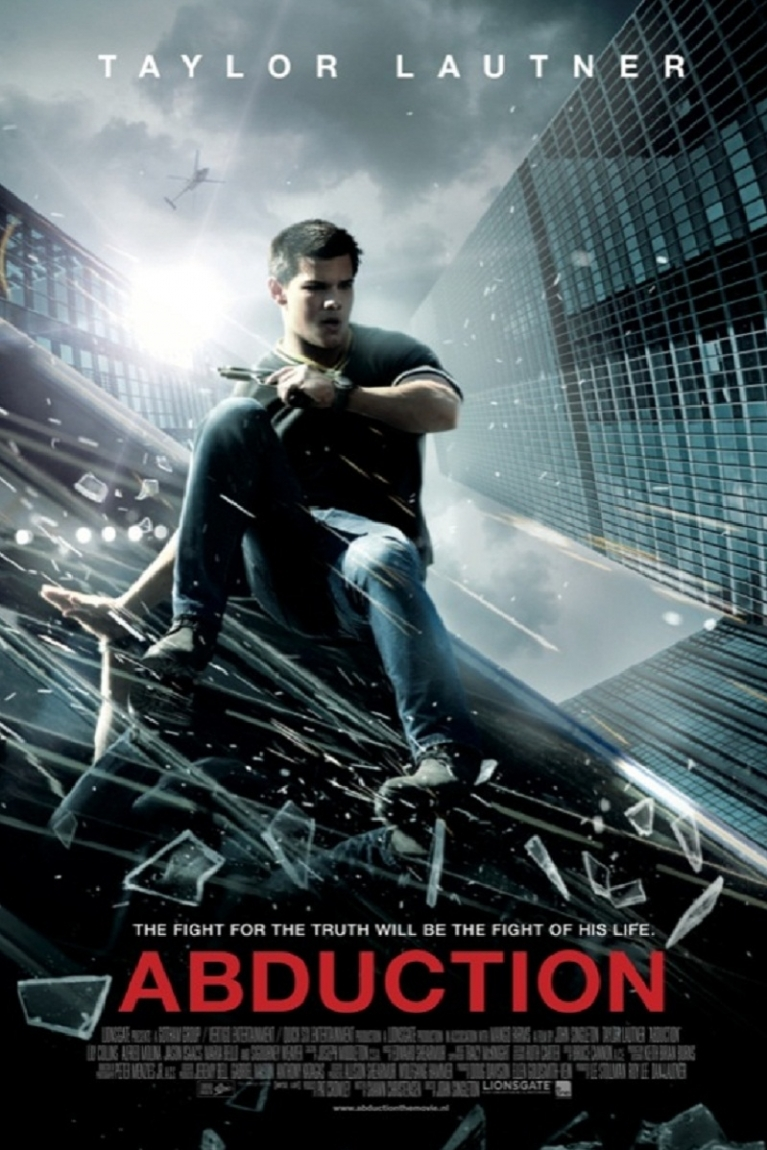 Abduction poster, © 2011 E1 Entertainment Benelux