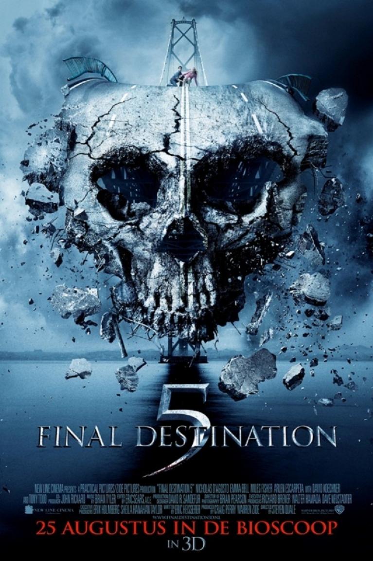 Final Destination 5 poster, © 2011 Warner Bros.