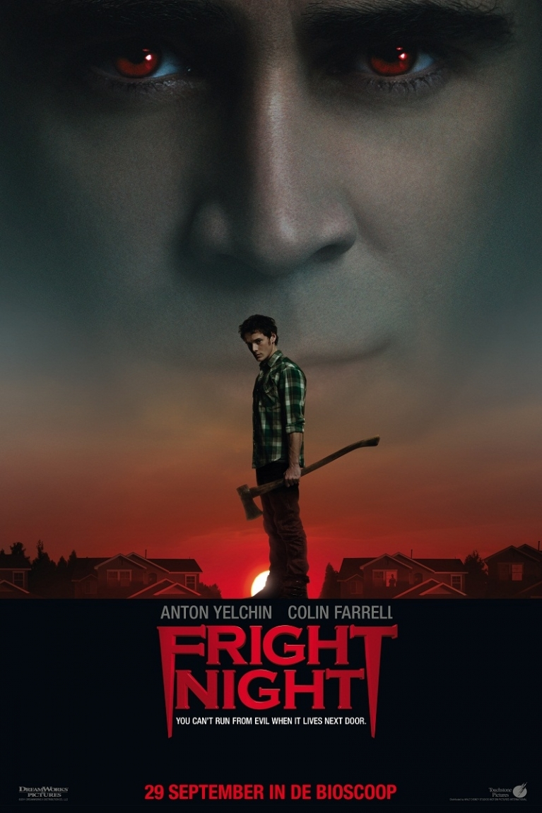 Fright Night poster, © 2011 Walt Disney Pictures