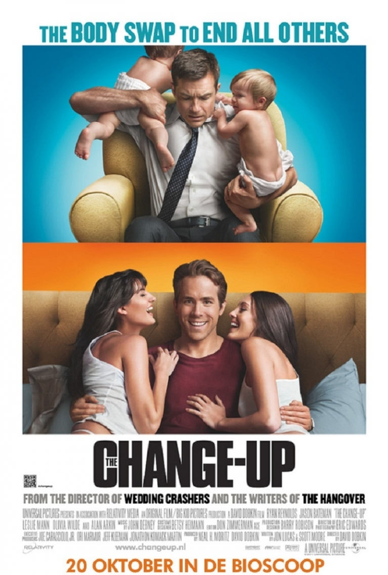 The Change-Up poster, © 2011 Universal Pictures International