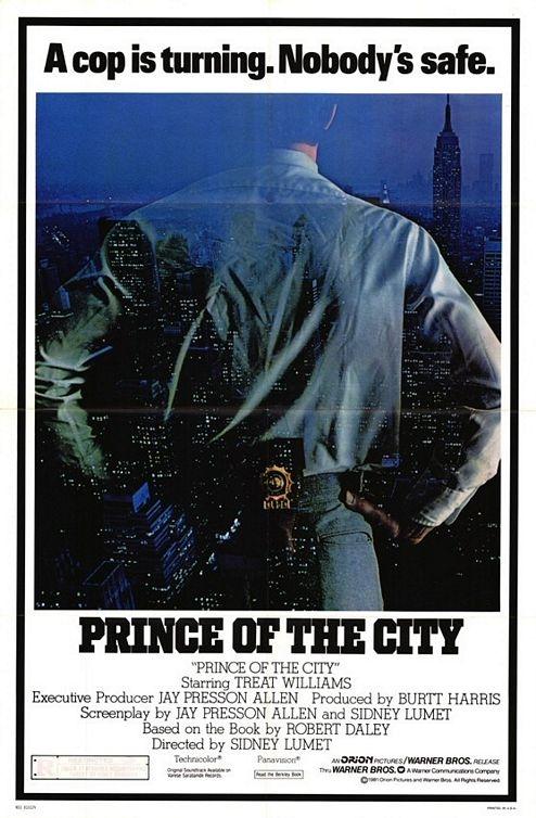 Prince of the City poster, copyright in handen van productiestudio en/of distributeur