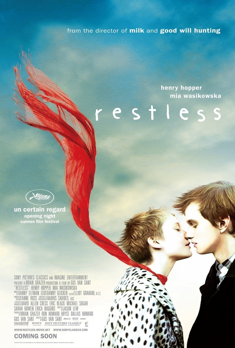Restless poster, © 2011 Sony Pictures Releasing