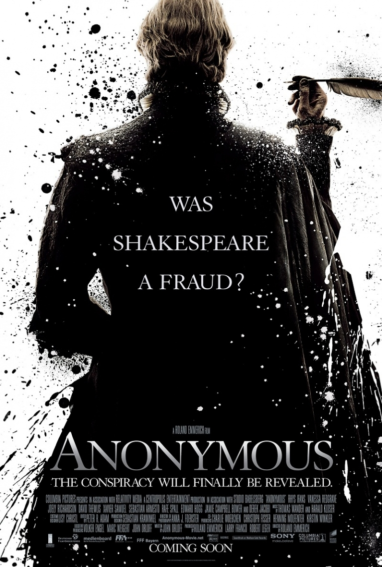 Anonymous poster, © 2011 Sony Pictures Releasing