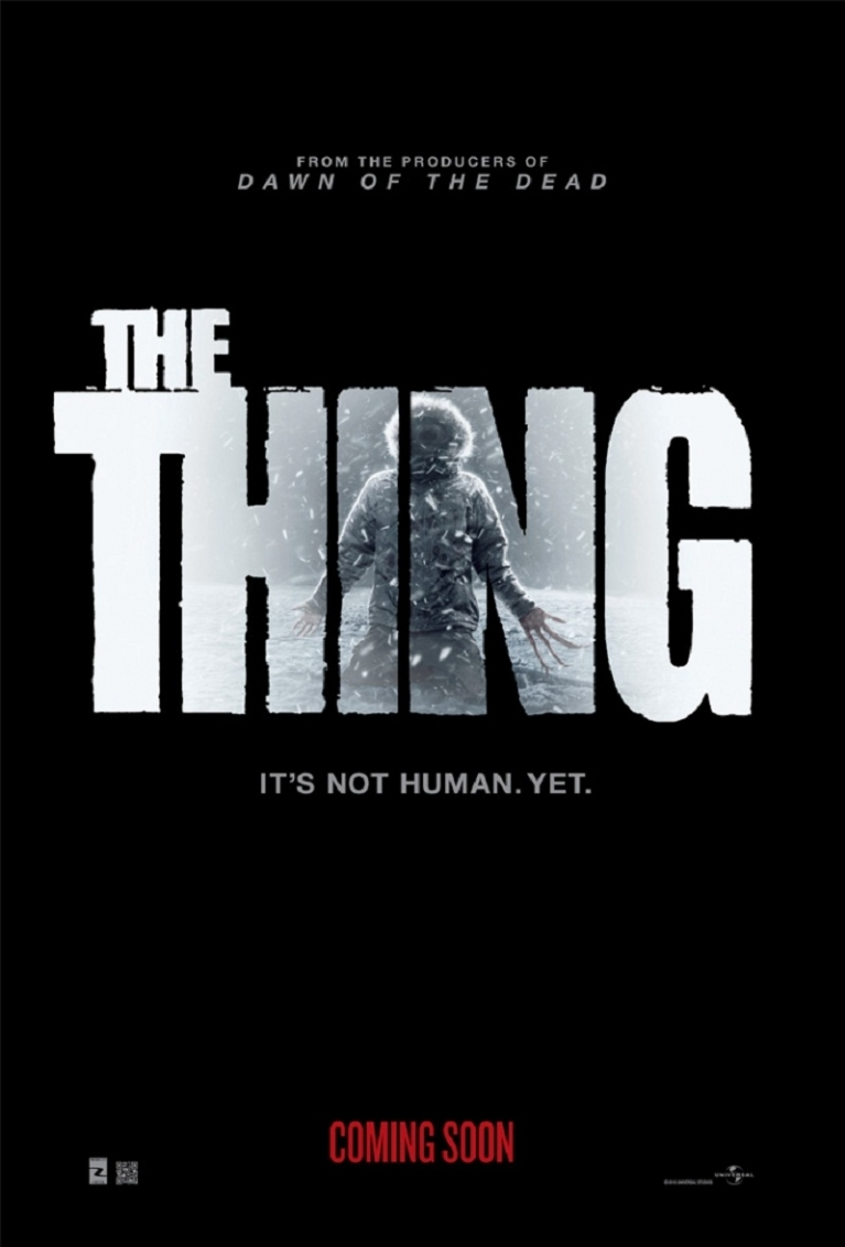 The Thing poster, © 2011 Universal Pictures International
