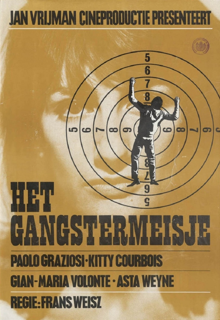 Het Gangstermeisje poster, © 1966 Eye Film Instituut