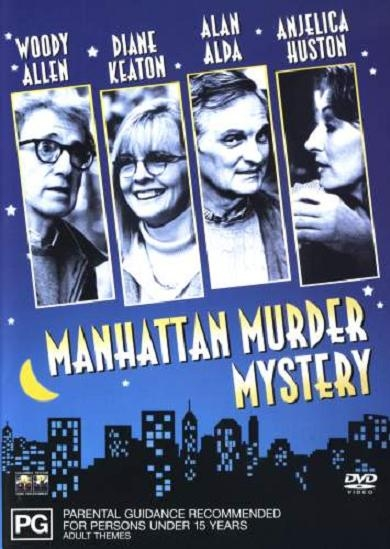 Manhattan Murder Mystery poster, copyright in handen van productiestudio en/of distributeur