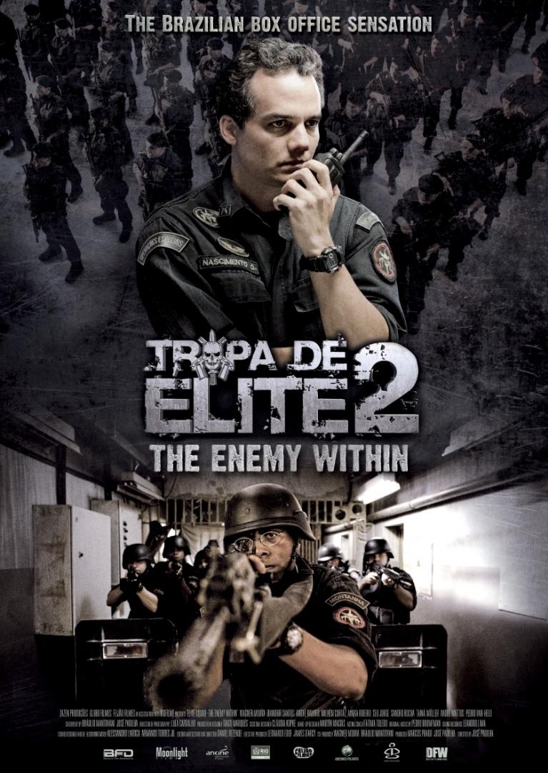 Tropa de Elite 2 - O Inimigo Agora É Outro poster, © 2010 Moonlight