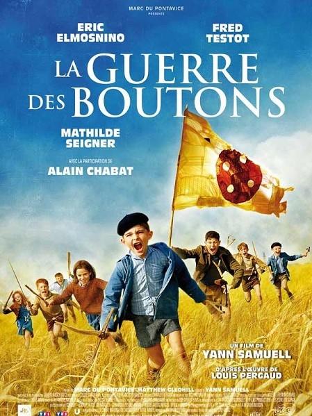 La guerre des boutons poster, copyright in handen van productiestudio en/of distributeur