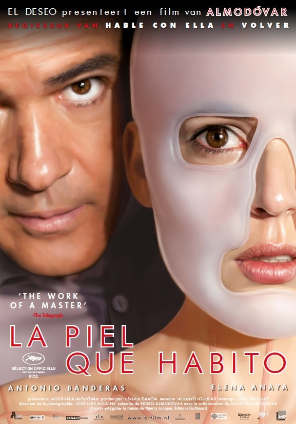 La piel que habito poster, © 2011 A-Film Distribution