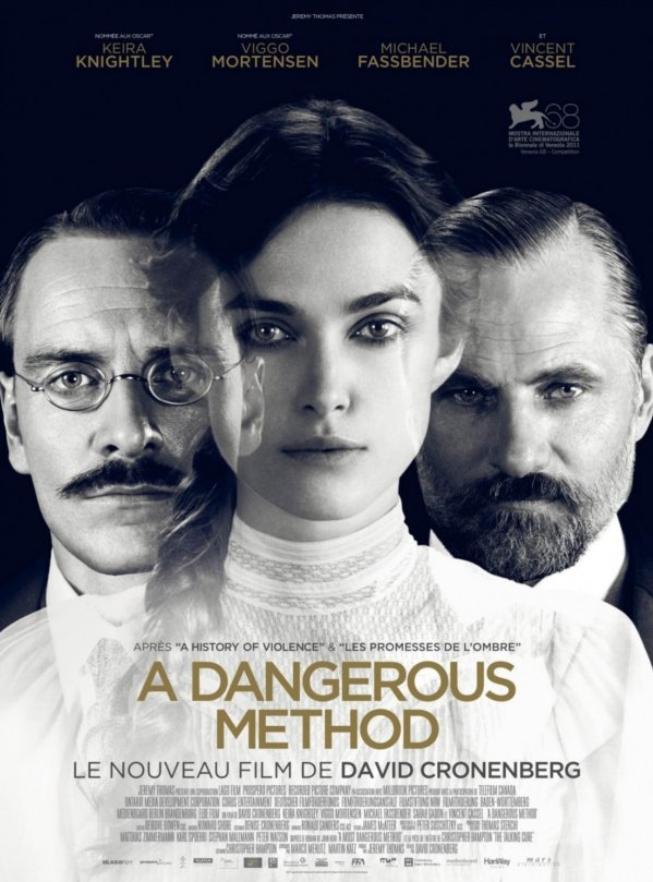 A Dangerous Method poster, © 2011 Cinéart
