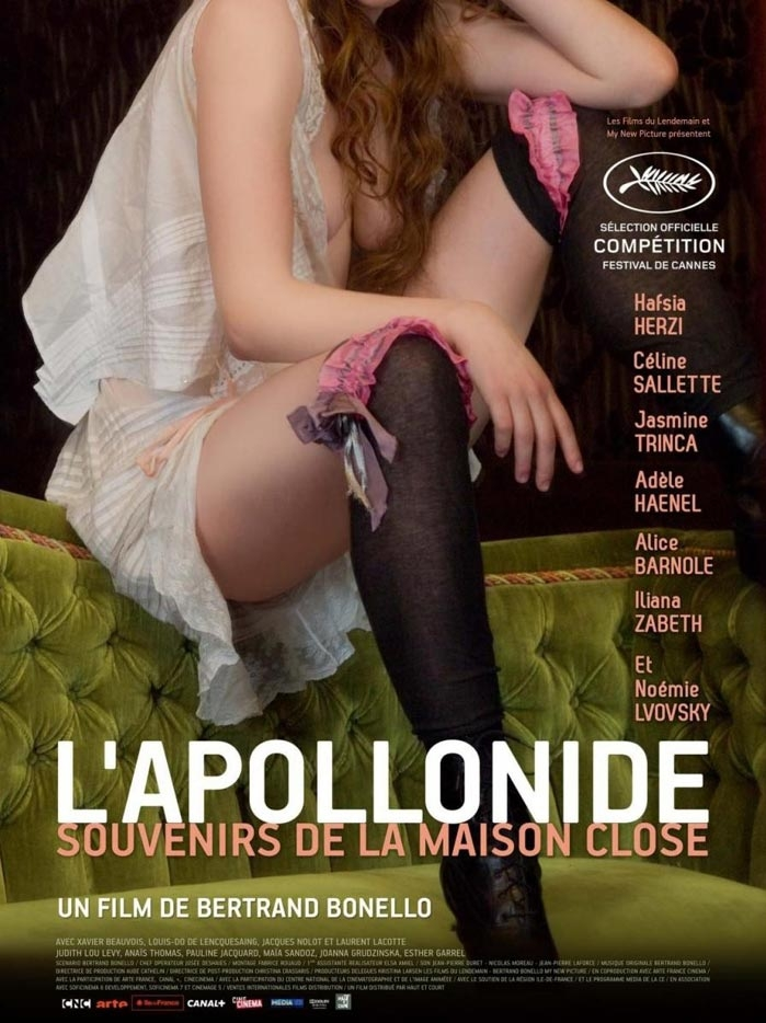 L'Apollonide (Souvenirs de la maison close) poster, copyright in handen van productiestudio en/of distributeur