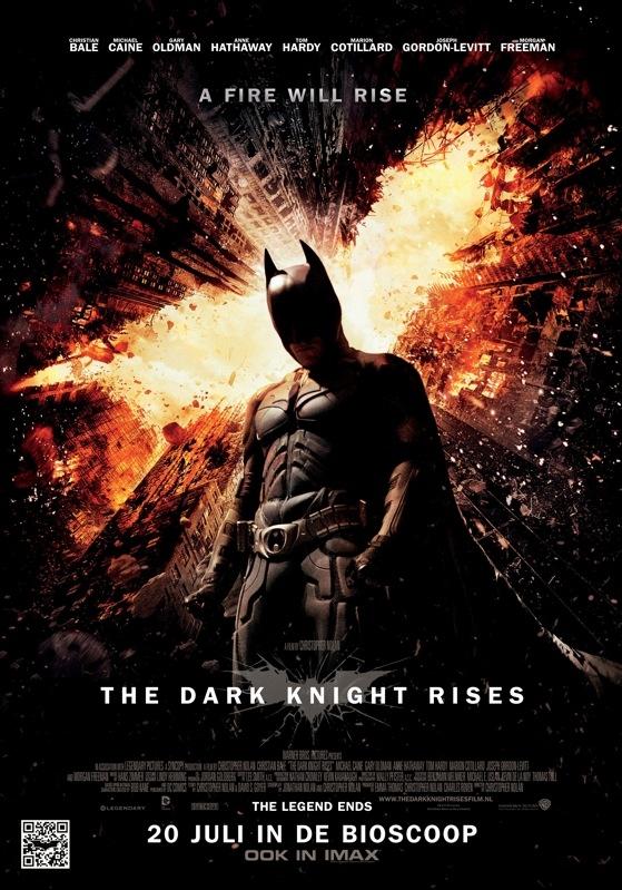 The Dark Knight Rises poster, © 2012 Warner Bros.