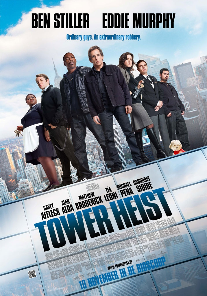 Tower Heist poster, © 2011 Universal Pictures International