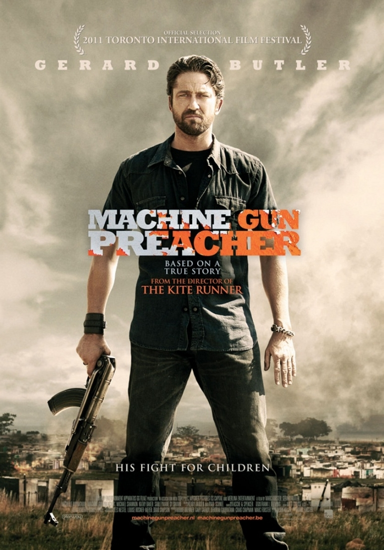 Machine Gun Preacher poster, © 2011 E1 Entertainment Benelux