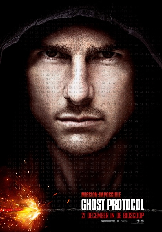 Mission: Impossible - Ghost Protocol poster, © 2011 Universal Pictures International