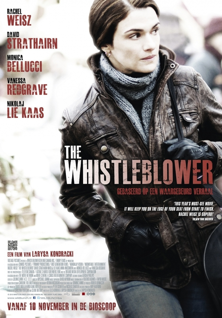 The Whistleblower poster, © 2010 Wild Bunch