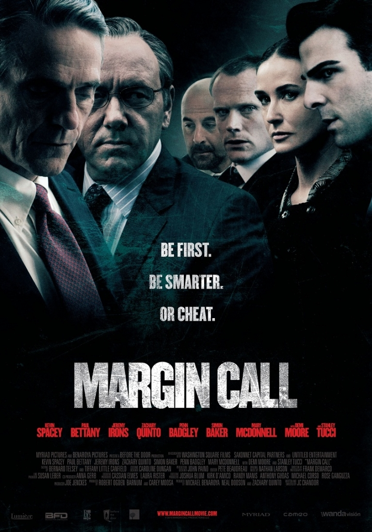 Margin Call poster, © 2011 Benelux Film Distributors