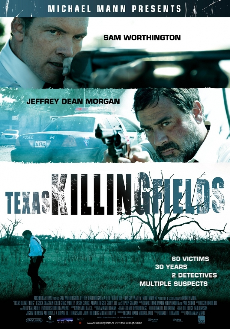 Texas Killing Fields poster, © 2011 E1 Entertainment Benelux