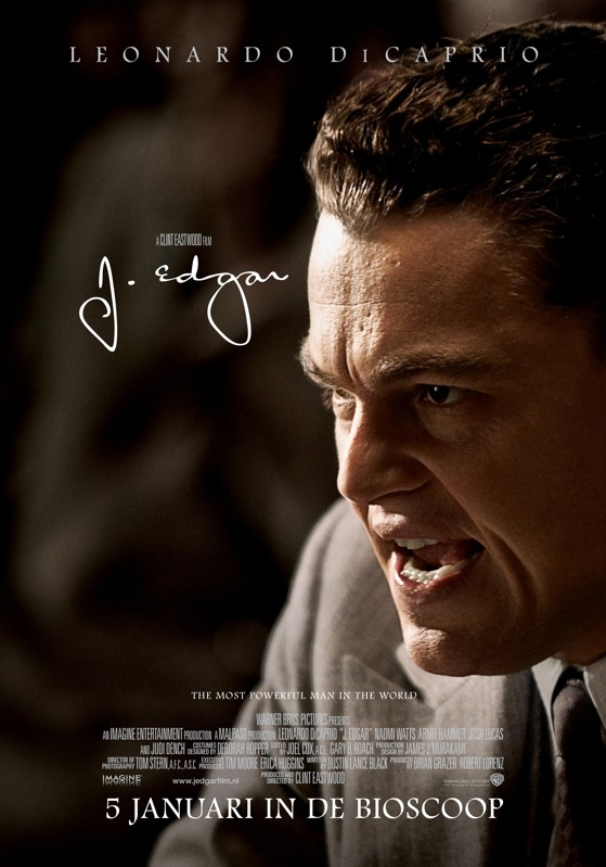 J. Edgar poster, © 2011 Warner Bros.