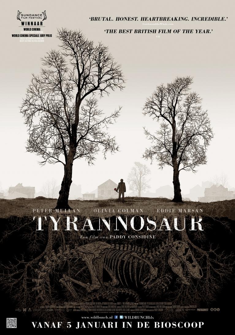 Tyrannosaur poster, © 2011 Wild Bunch