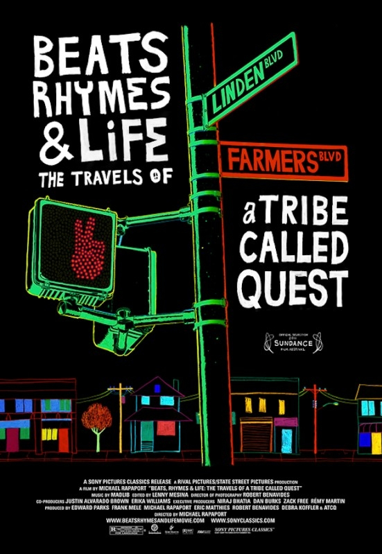 Beats Rhymes & Life: The Travels of a Tribe Called Quest poster, © 2011 Cinemien
