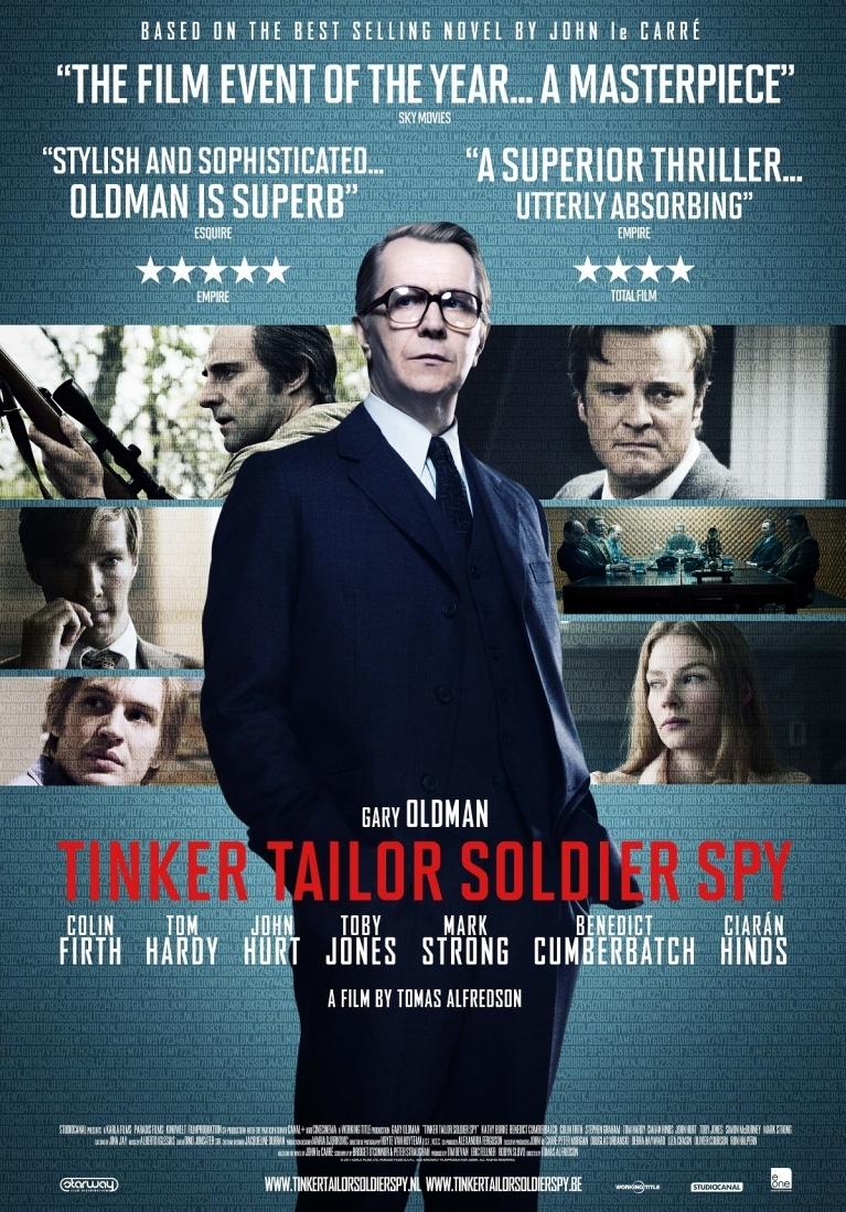 Tinker, Tailor, Soldier, Spy poster, © 2011 E1 Entertainment Benelux