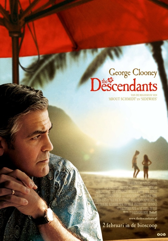The Descendants poster, © 2011 20th Century Fox