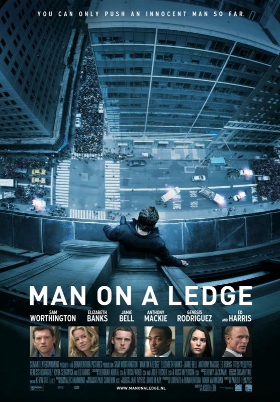 Man on a Ledge poster, © 2012 E1 Entertainment Benelux