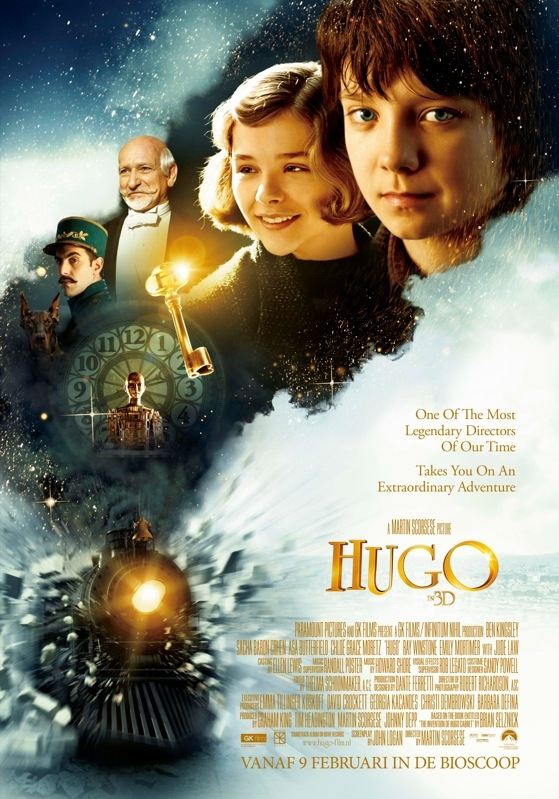 Hugo poster, © 2011 Universal Pictures International