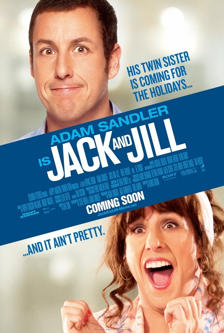Jack and Jill poster, © 2011 Sony Pictures Classics