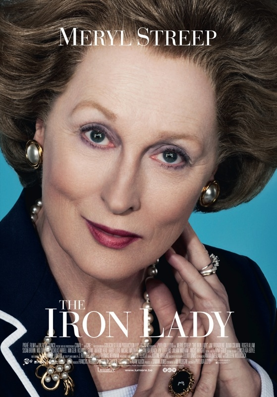 The Iron Lady poster, © 2011 Lumière