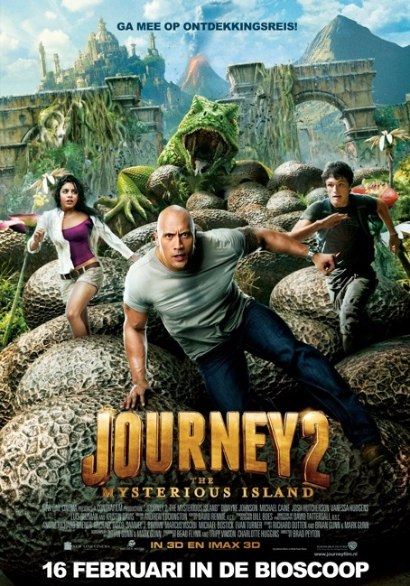 Journey 2: The Mysterious Island poster, © 2012 Warner Bros.