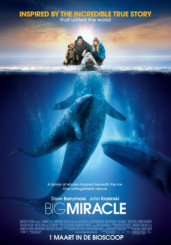 Big Miracle poster, © 2012 Universal Pictures International