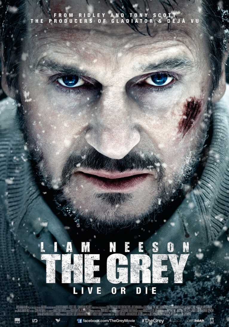 The Grey poster, © 2012 Dutch FilmWorks