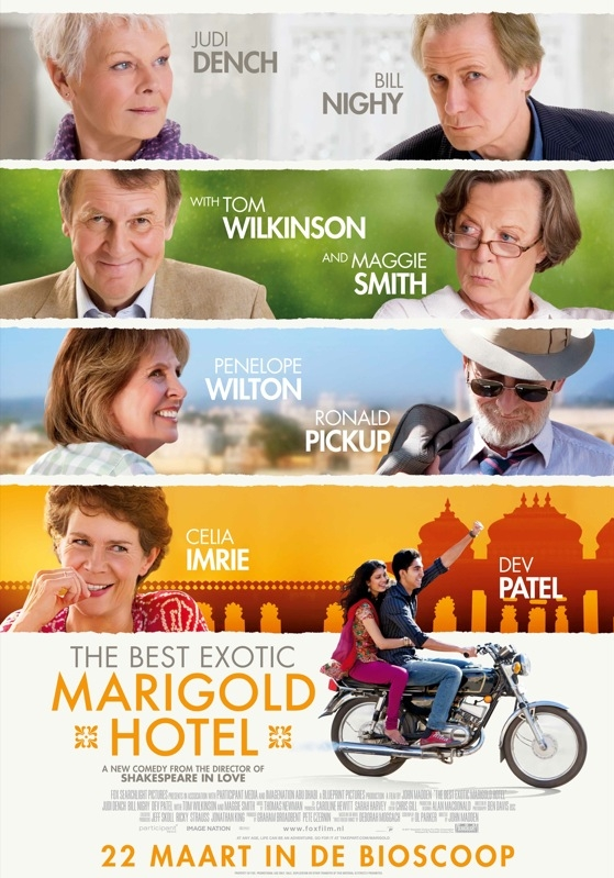 The Best Exotic Marigold Hotel poster, © 2011 20th Century Fox