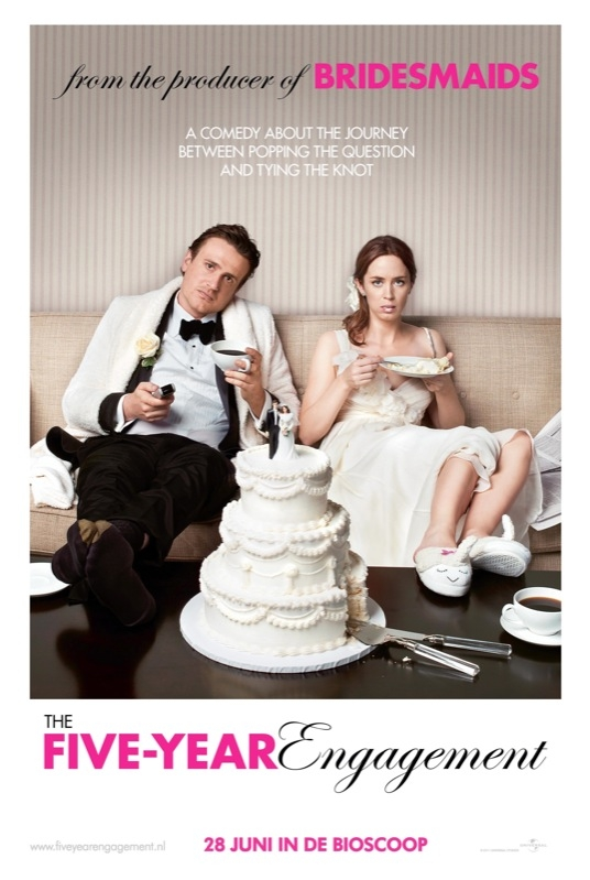 The Five-Year Engagement poster, © 2012 Universal Pictures International