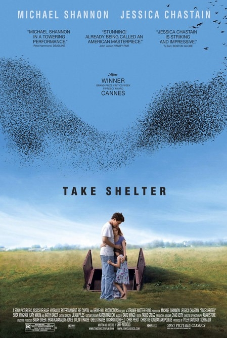 Take Shelter poster, © 2011 A-Film Distribution