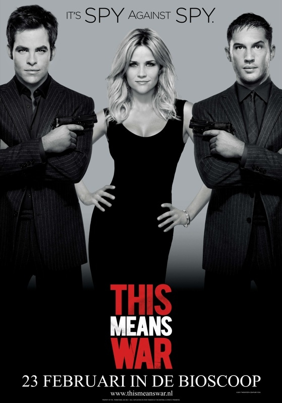 This Means War poster, © 2012 20th Century Fox