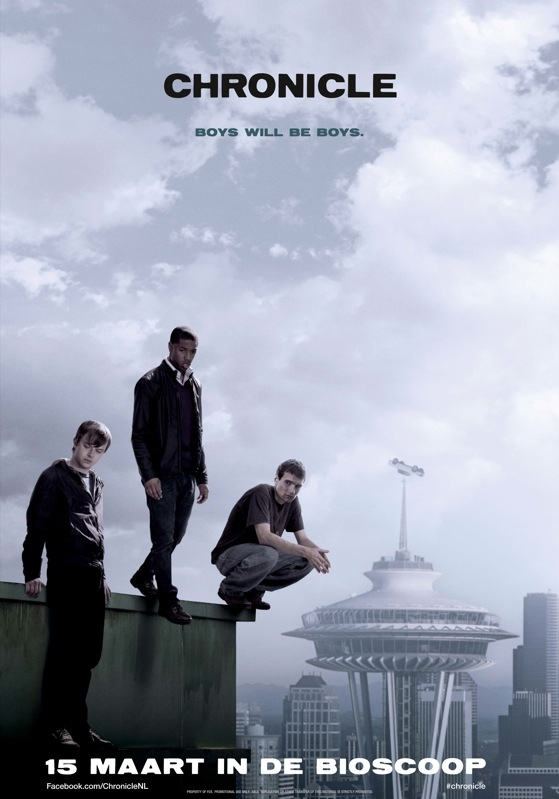 Chronicle poster, © 2012 20th Century Fox