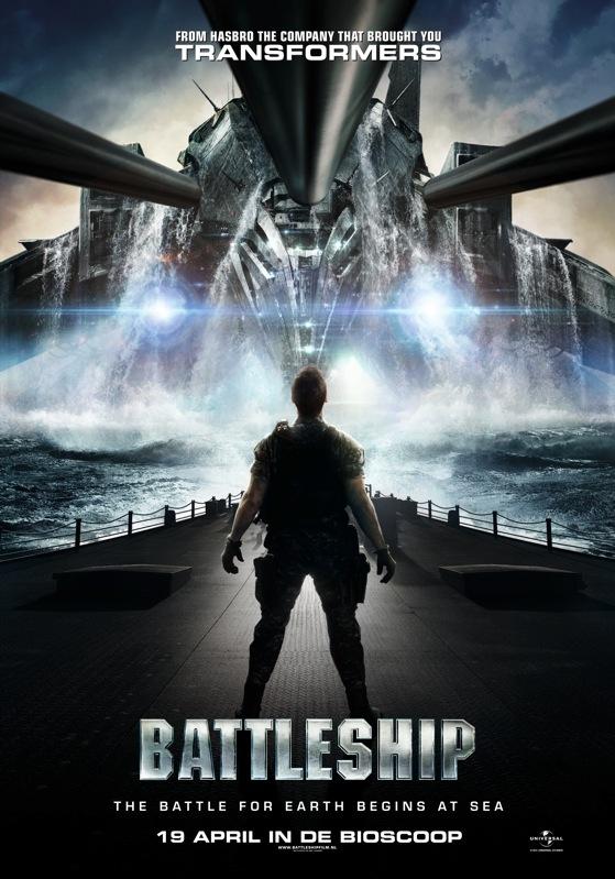 Battleship poster, © 2012 Universal Pictures International