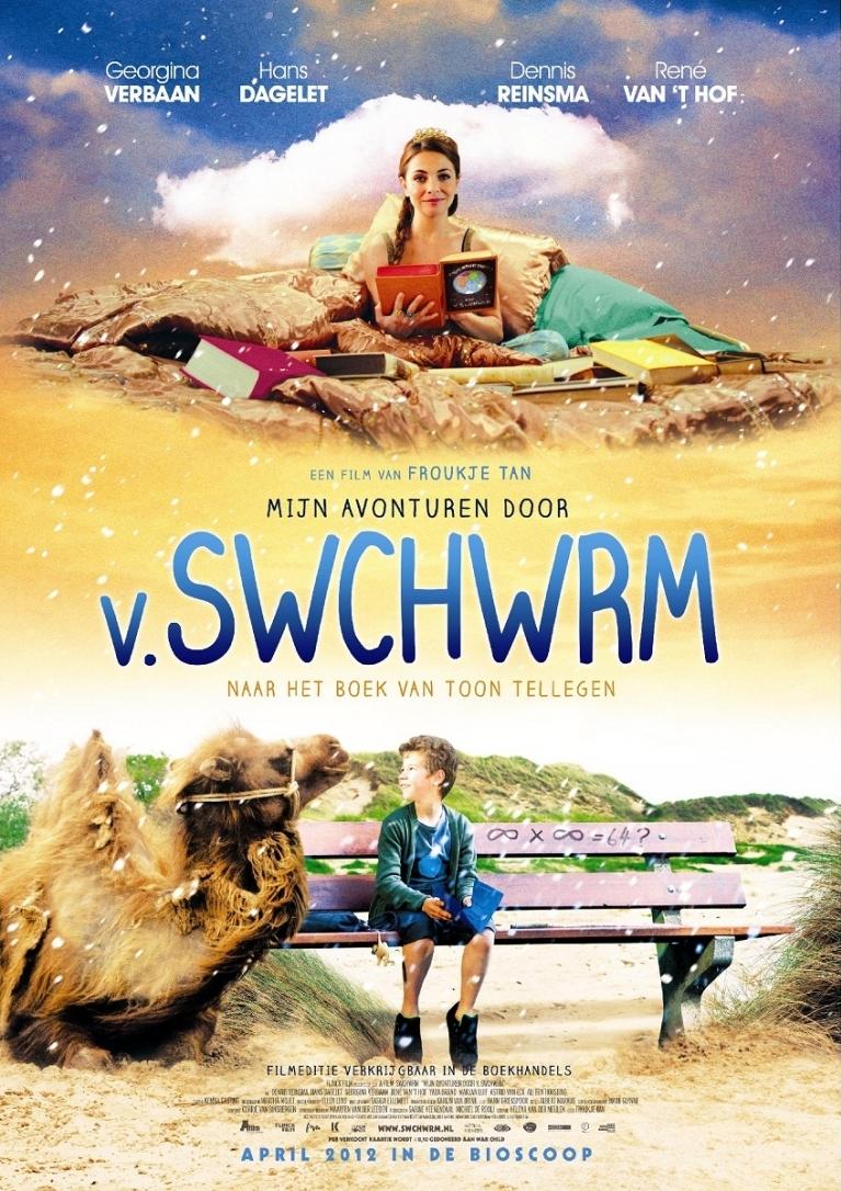 Mijn avonturen door V. Swchwrm poster, © 2012 A-Film Distribution