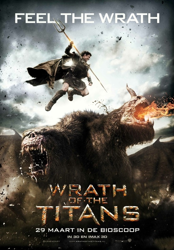 Wrath of the Titans poster, © 2012 Warner Bros.