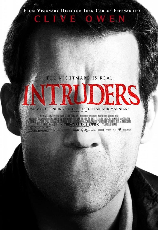 Intruders poster, copyright in handen van productiestudio en/of distributeur