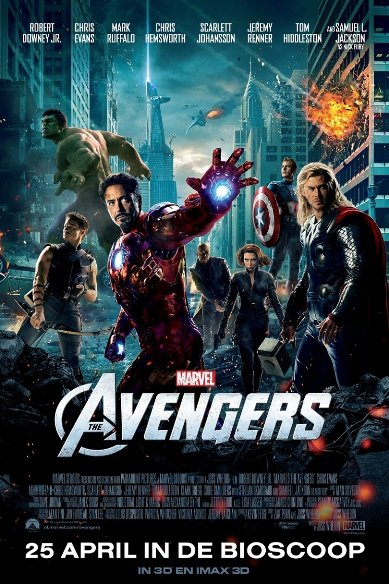 The Avengers poster, © 2012 Walt Disney Pictures