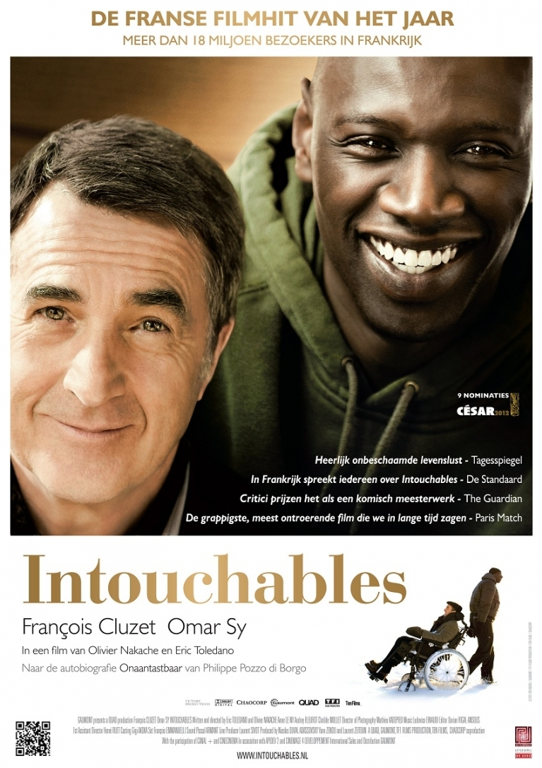 Intouchables poster, © 2011 Filmfreak Distributie