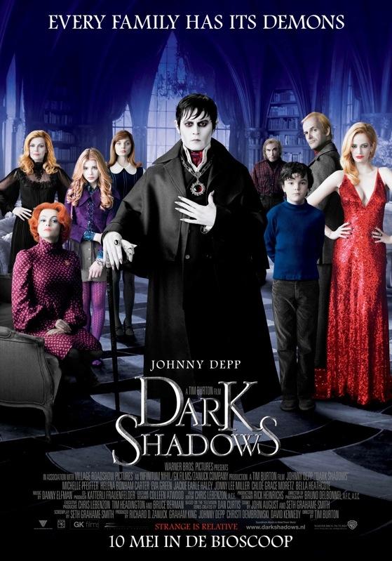 Dark Shadows poster, © 2012 Warner Bros.